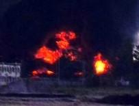 YANGIN FACİASI - Mühimmat deposunda yangın: 17 ölü