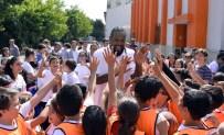 YETENEK YARIŞMASI - NBA Yıldızı İstanbul'da Öğrencilerle Buluştu