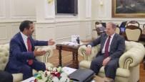 YIPRANMA PAYI - Sağlık-Sen Genel Başkanı Memiş'ten Bakan Akdağ'a Ziyaret