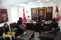 Suriyeli Öğrencilerden Seydişehir Belediyesi'ne Ziyaret