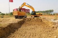 Turgutlu'daki Spor Kompleksi İçin İlk Kazma Vuruldu