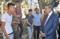 SAVAŞ KONAK - Vali Su, Saldırıda Yaralanan Vatandaşları Ziyaret Etti