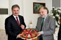 MADEN OCAKLARI - Almanya/Rödermark Belediye Başkanı, Başkan Çakır'ı Ziyaret Etti
