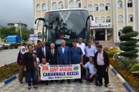 ŞEHİT AİLELERİ - Düziçi Şehit Aileleri Ve Gaziler Çanakkale'ye Gitti