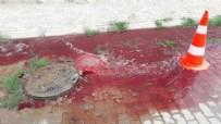 AYDIN BELEDİYESİ - Rögardan kan fışkırdı!
