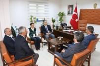 MUHARREM TOZAN - Vali Fidan İGM Başkanını Ziyaret Etti