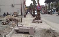 YAYA KALDIRIMI - Amasra'da Cadde Çalışmaları Devam Ediyor