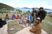 TAMER YIĞIT - Başkan Özaltun'dan 'Kervan Belgeseli' Çekim Setine Ziyaret