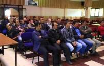 Seydişehir'de Sebeltaş Çalışanlarına Seminer
