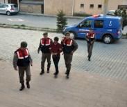 Suriyeli Mülteci Gasp Ettiği Taksiyle Kaçarken Yakalandı