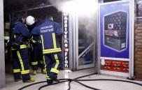 FAHRETTİN ALTAY - Elektronik Cihaz Satan Dükkanda Yangın