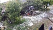 YAĞIŞ UYARISI - Mersin'de Dolu Tarım Alanlarında Zarara Yol Açtı