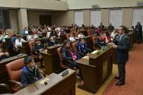ATAYURT - Başkan Ataç, Öğrencilerin Sorularını Cevapladı