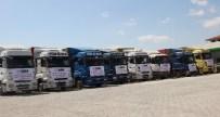 İHH'dan Suriye'ye Bin 235 Yardım Tır'ı