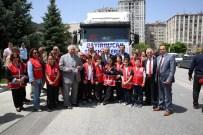 YARDIM KONVOYU - Kayseri Bayırbucak Türkmenlerinin Yanında
