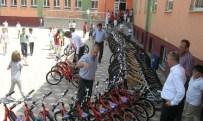 HÜSEYIN PARLAK - Öğrenciler Bisikletlerine Kavuştu