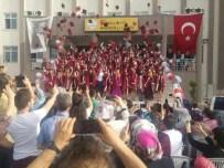 Soma Linyit Anadolu Lisesinde Mezuniyet Sevinci