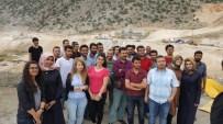MUSTAFA TALHA GÖNÜLLÜ - Üniversite Öğrencileri Ardıl Barajı İnşaatını Gezdi