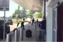 TELSIM - ABD'de Havalimanında Silah Sesleri