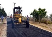 KAZANLı - Adanalıoğlu'nda Asfalt Çalışmaları Tamamlandı