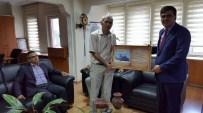MUZAFFER YALÇIN - Başkan Yalçın'dan Vakıflar Bölge Müdürü Emek'e Ziyaret