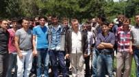 İSMAIL ŞAHIN - Maden İşçilerinden 'Maaş' Eylemi