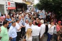 AYTUĞ ATICI - Mersin'de CHP'liler Kılıçdaroğlu'na Yönelik Saldırıyı Protesto Ettiler