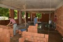 KAZAN DAİRESİ - Yeniköy Mezarlığı'nda Yeni İdare Binası Yapılıyor