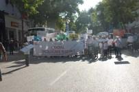 ULUSLARARASI ÇALIŞMA ÖRGÜTÜ - Adıyaman'da Çocuk İşçiliğine Hayır Yürüyüşü