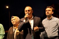 GÖVDELI - Bakan Çavuşoğlu Gazipaşa'da İftar Programına Katıldı