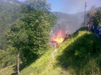 Trabzon'da Ev Yangını