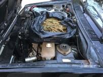 Aracın Motorunda Esrar Bulundu