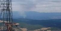Bursa'da Orman Yangını Kontrol Altına Alınmaya Çalışılıyor