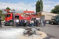 MURAT TÜRKMEN - İl Gıda Tarım Ve Hayvancılık Müdürlüğü Personeline Yangın Eğitimi Verildi