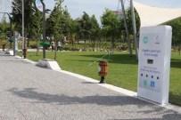 AKÜLÜ SANDALYE - Atatürk Kent Park'ta Engelli Şarj İstasyonları Kuruldu