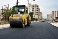 KARGıPıNARı - Erdemli'de Yol Çalışmaları Sürüyor