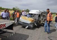 Uşak'ta Trafik Kazasında 1 Kişi Hayatını Kaybetti