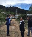 AK Parti İl Başkanı Hortum Yaşanan Köyü Ziyaret Etti