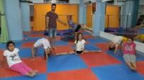 Burhaniyeli Jimnastikçiler Yarışmaya Hazırlanıyor