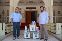 ÇAMAŞIR SUYU - Osmaniye Belediyesi'nden Camilere Temizlik Malzemesi Seti