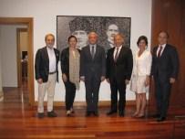 AÇIKÖĞRETİM FAKÜLTESİ - Türkıye İç Denetim Enstitüsü'nden Rektör Gündoğan'a Ziyaret