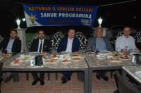 ESMAÜL HÜSNA - AK Parti Gençliği Sahurda Buluştu
