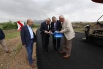 ÜÇKUYU - Başkan Çelik İncesu'daki Yol Çalışmalarını İnceledi