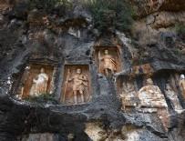 DAĞ KEÇİSİ - Dev kabartmaların gizemli mekanı: 'Adam Kayalar'