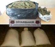 Diyarbakır'da 52 Kilo Esrar Ele Geçirildi