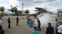 İtfaiyeden Sosyal Hizmetlere Yangın Eğitimi