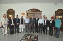 Kırıkkale Basını Vali Haktankaçmaz'ı Ziyaret Etti