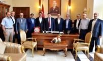 SAĞLıK SEN - Memur-Sen'den Vali Arslantaş'a Hoşgeldin Ziyareti