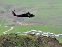 KıZıLAĞAÇ - Muş'ta hava destekli terör operasyonu