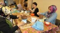 Burhaniyeli Kadınlar Hem Sanat Öğreniyor Hemde Para Kazanıyor